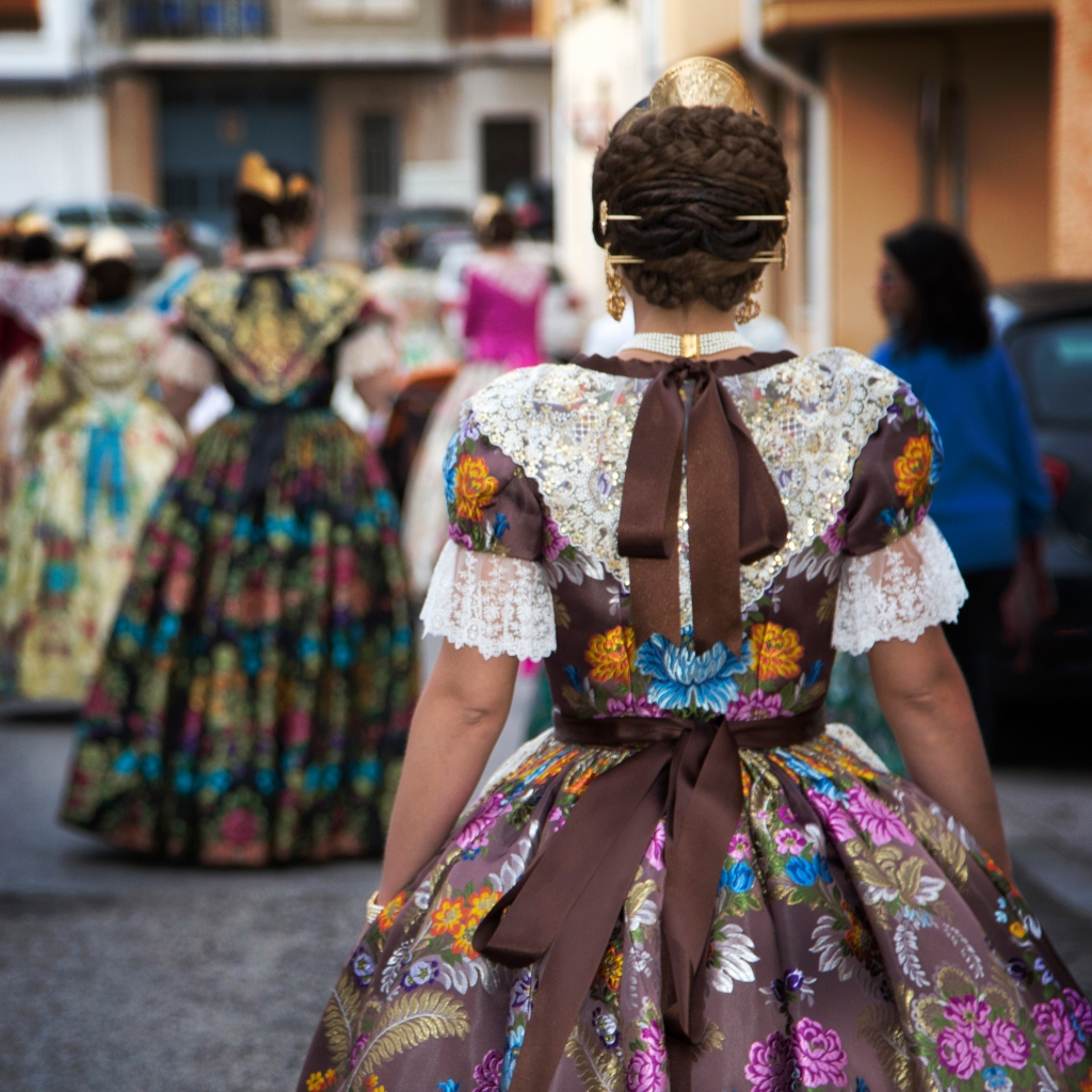 fotografa de falleras Elvira Folguerà